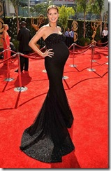 Model Heidi Klum arrives at the 61st Primetime Emmy Awards held