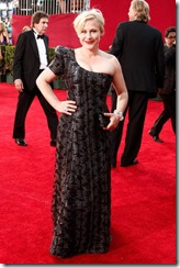 Actress Patricia Arquette arrives at the 61st Primetime Emmy Awa