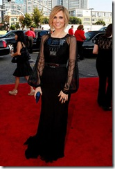 Actress Kristen Wiig arrives at the 61st Primetime Emmy Awards h