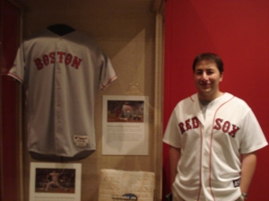 Solomon loves his Red Sox!